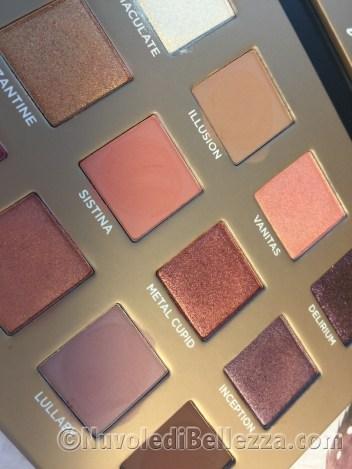 Swatches Nabla Dreamy Palette Eyeshadow