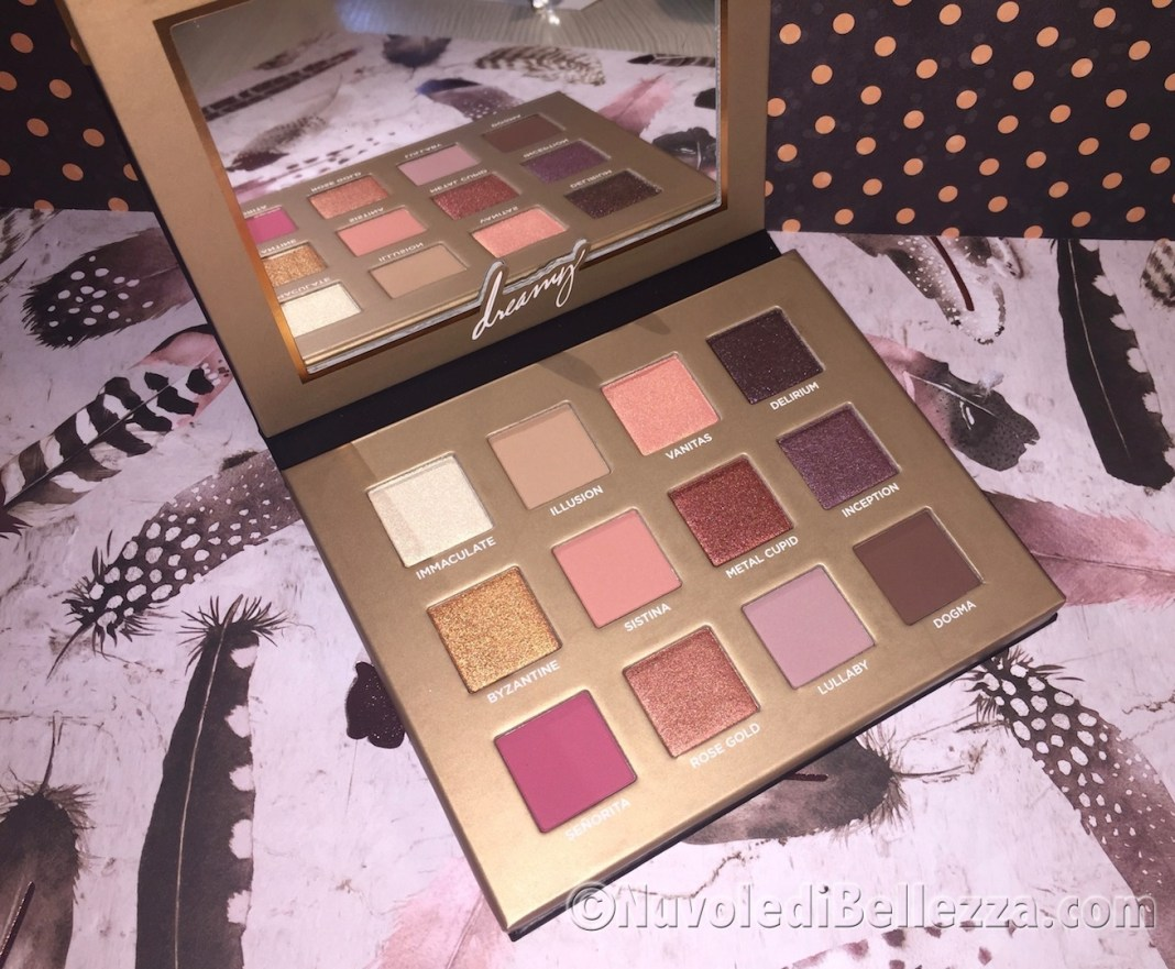 Review e Swatches Nabla Dreamy Palette Eyeshadow