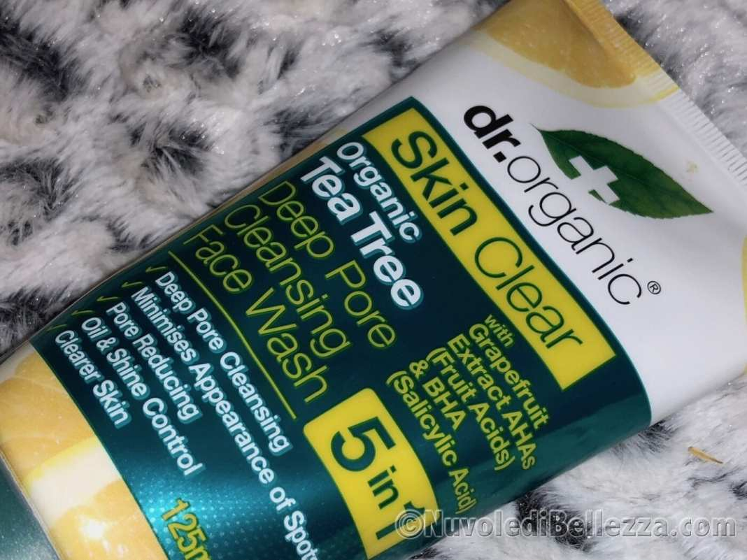 Dr Organics Skin Clear - Detergente Viso