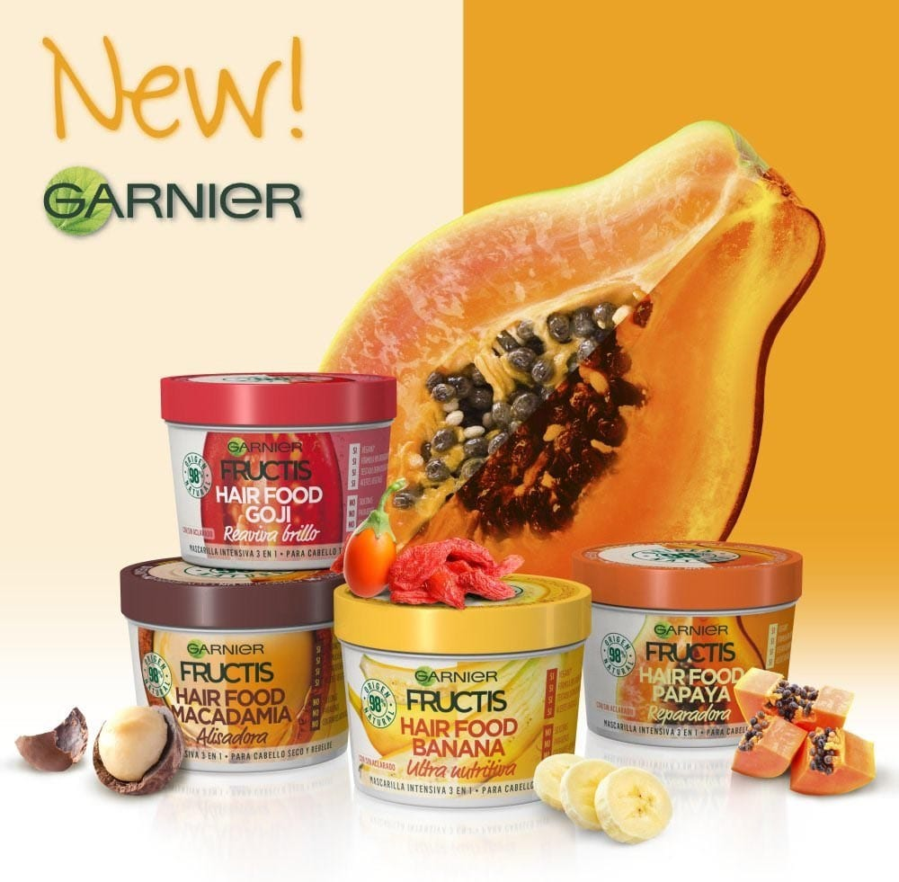 Novità Garnier Fructis Hair Food