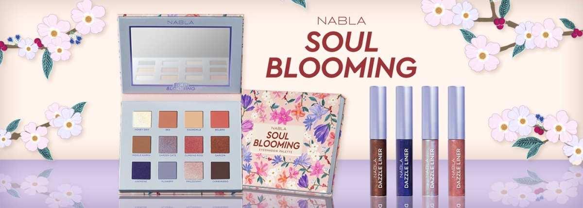 Nabla Soul Blooming | Palette Ombretti e Collezione Nabla 2018