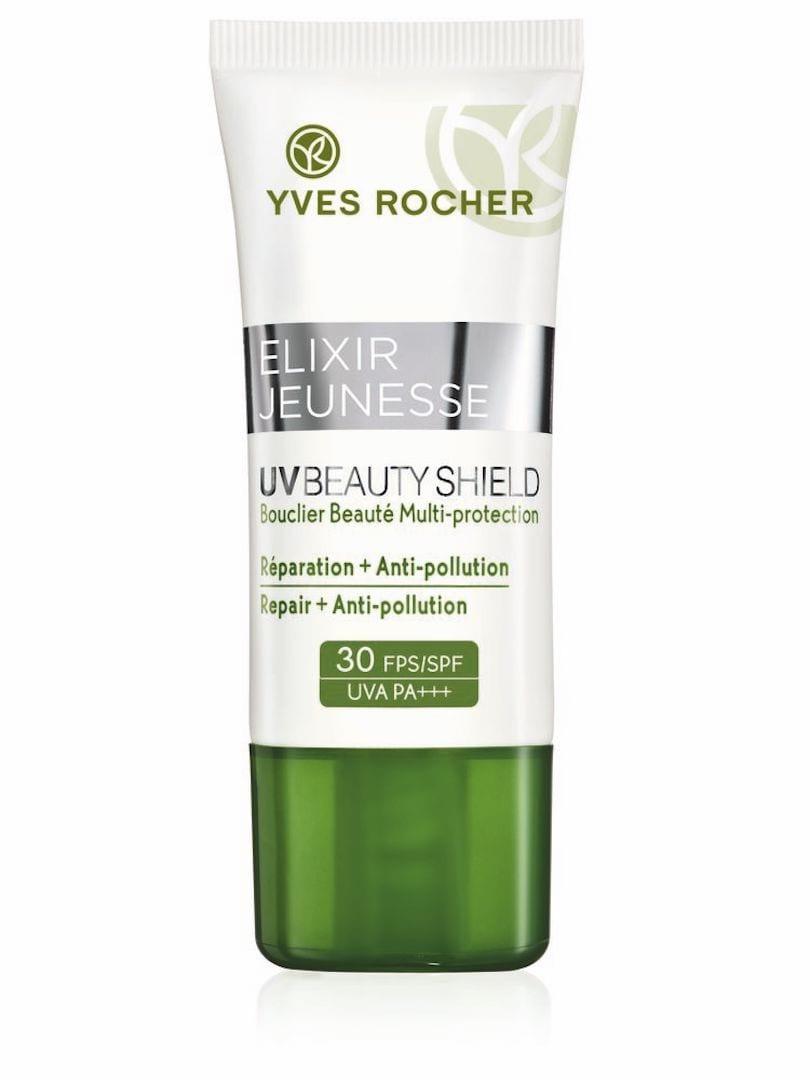 Yves Rocher UV Beauty Shield Filtro Solare ed Anti-Inquinamento SPF30