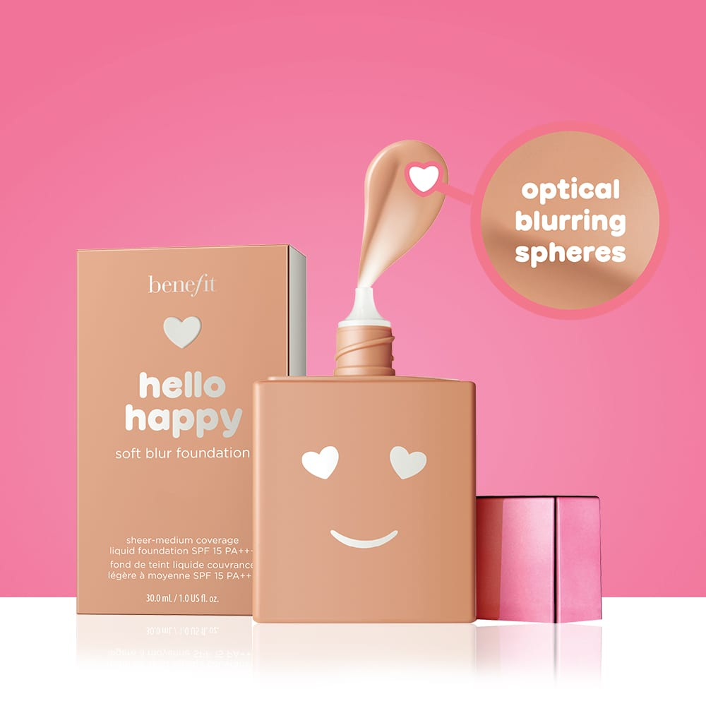 Benefit Foundation Hello Happy Soft Blur
