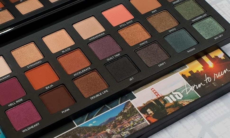 Swatches Palette Urban Decay Born To Run