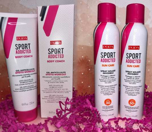Pupa Gel Anticellulite Effetto Workout e Sun Care Spray Invisibile