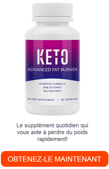 Keto Advanced Fat Burner avec BHB