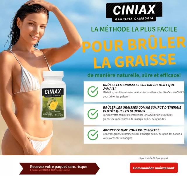 Comment est-ce que Ciniax Garcinia Cambogia t'aide maigrir?