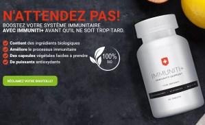 Stimule le système immunitaire et renforce la résistance de l'organisme