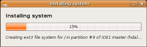 Ubuntu dapper installing