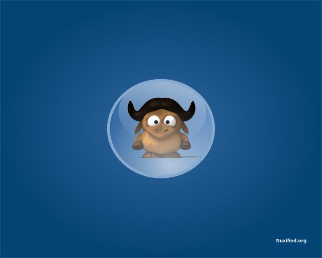 Nuxified Desktop GNU Wallpaper