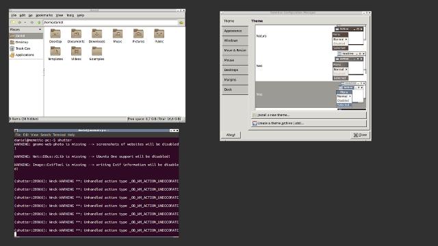 OpenBox window manager