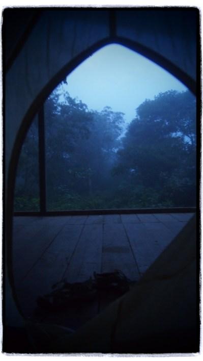 Cangılda sabah manzarası