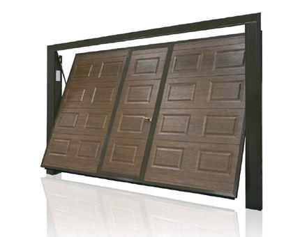 Porte Basculanti con pannello sezionale