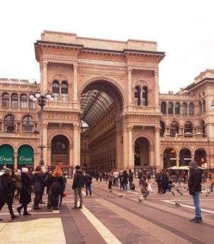 La galerie Victor Emmanuel II
