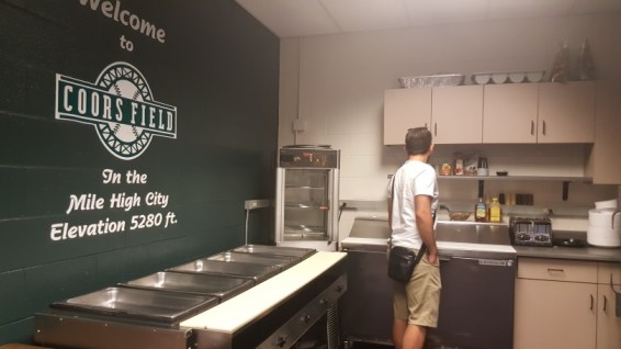 Coors Field - cuisine