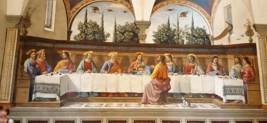 La Cène de Ghirlandaio Couvent San Marco