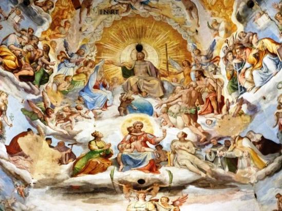 Fresque de la Copupole du Duomo de Florence