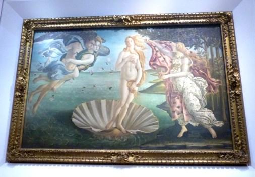 La Naissance de Venus de Botticelli