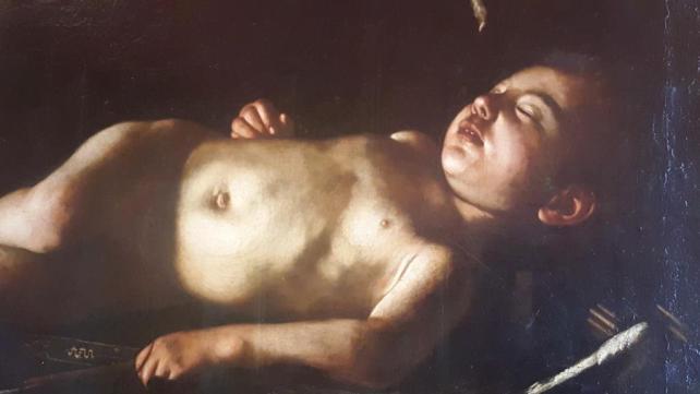 Palazzo Pitti Caravage l'Amour endormi
