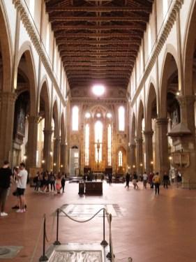 Santa Croce intérieur