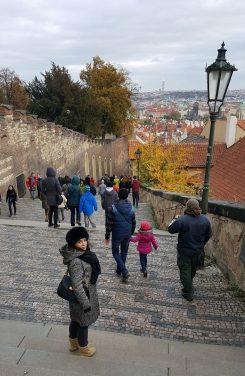 Prague Castle rue Jirska