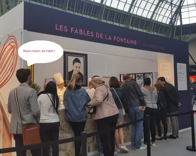 Les Fables de la Fontaine - Taste of Paris 2017