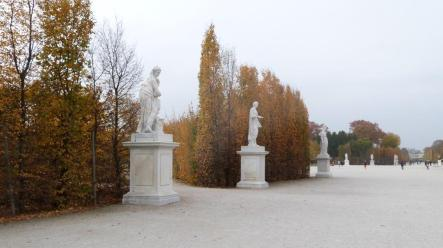 Château de Schonbrunn jardin Vienne