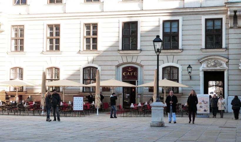 Café Hofburg Vienne