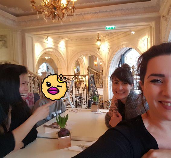 Tea time entre copines Café Pouchkine