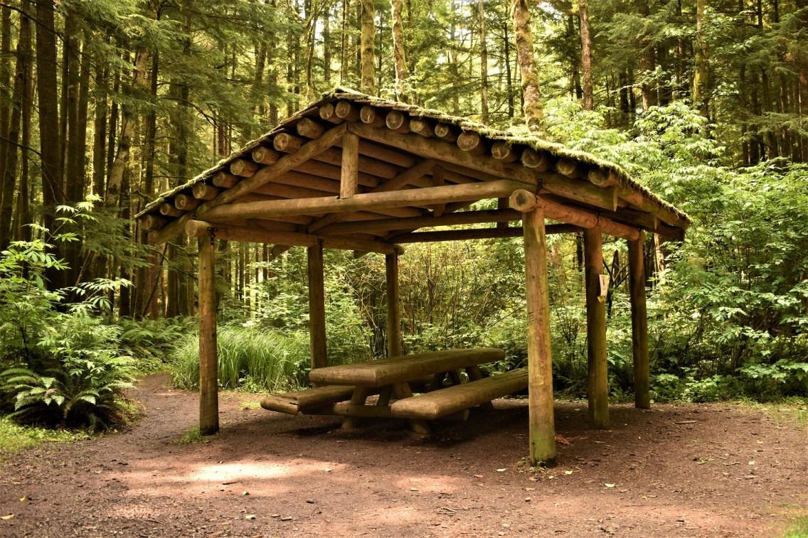 Hiker's camp