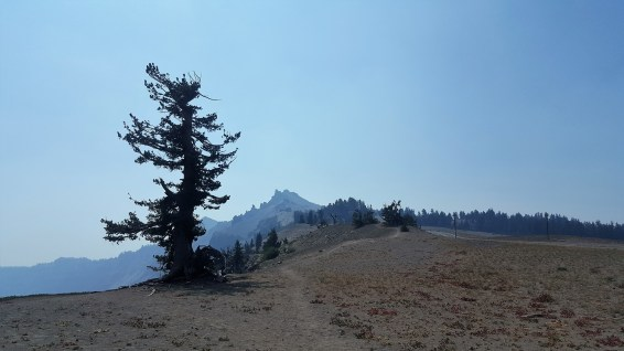 Overlook Crater Lake