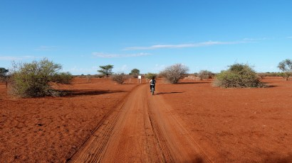 Fat Bike Kalahari Namibie