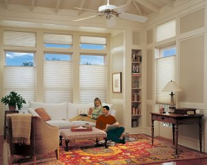 Hunter Douglas Applause honeycomb shades in Colorado Springs