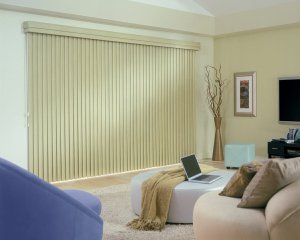 Hunter Douglas Cadence vertical blinds in Lone Tree, CO