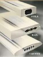 PolyCore shutters aluminum core