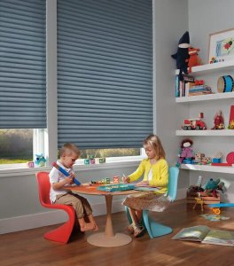 Hunter Douglas Sonnette cellular roller shades in Colorado