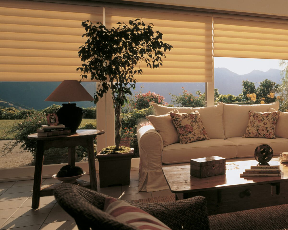 Hunter Douglas Vignette Roman Shades in Denver