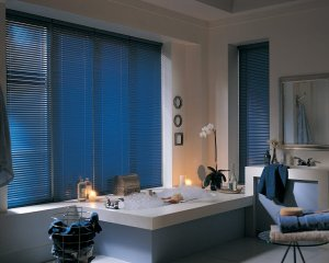 Hunter Douglas aluminum mini blinds in Colorado Springs, Colorado