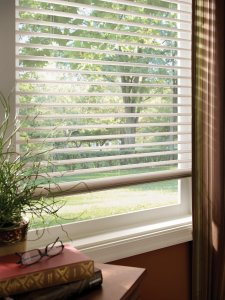 Insulating blinds in Colorado Springs open setting