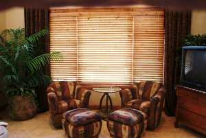 Knotty Alder Blinds in Lone Tree, CO