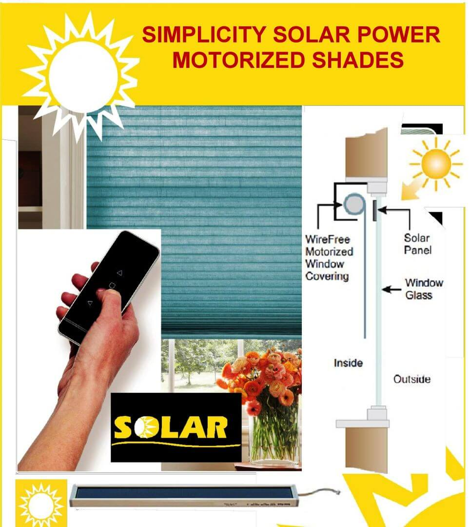 Solar Power Window Shades in Colorado