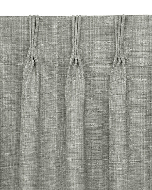 Three Finger Pinch Pleat draperies in Colorado