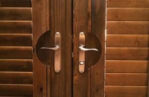 knotty alder shutters in Colorado Springs
