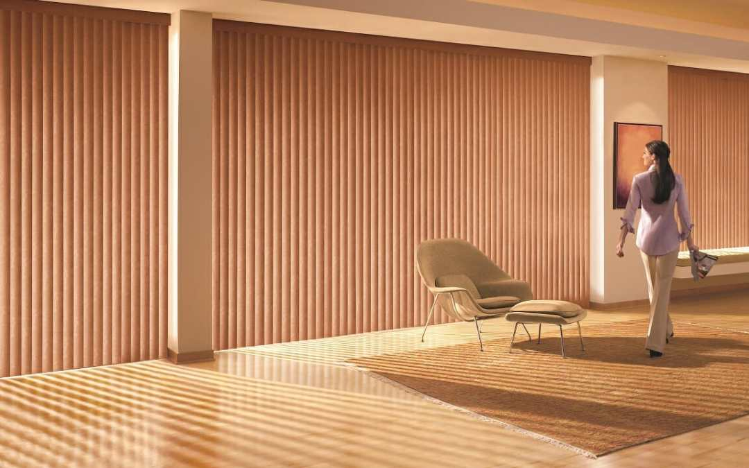 PVC/Faux Wood Vertical Blinds