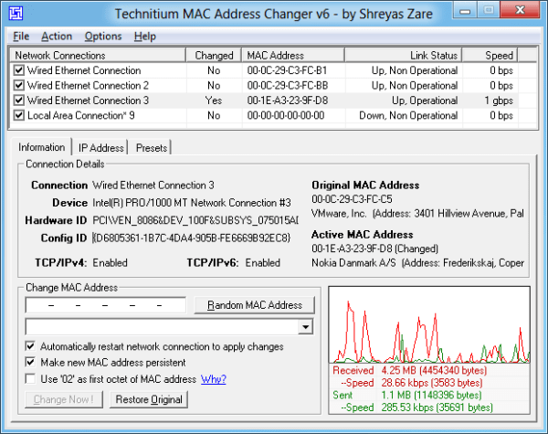 Mac Address Changer 2019 Crack NVCrack