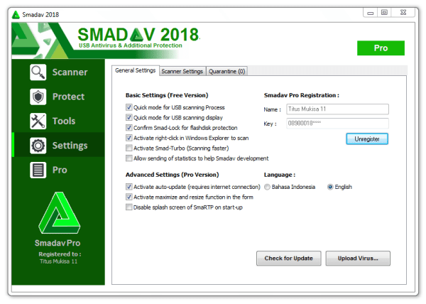 Smadav Pro Key 2020 Download NVCrack