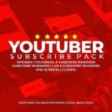 VideoHive Youtube Subscribe Pack 2 Free Download 2020