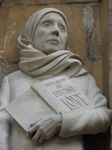 Julian of Norwich statue, Norwich Cathedral