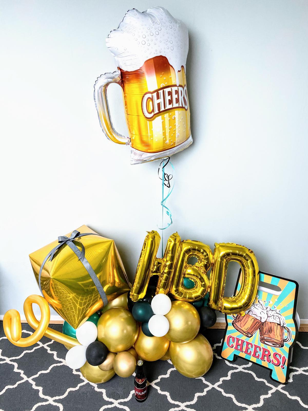 cheers fancy balon