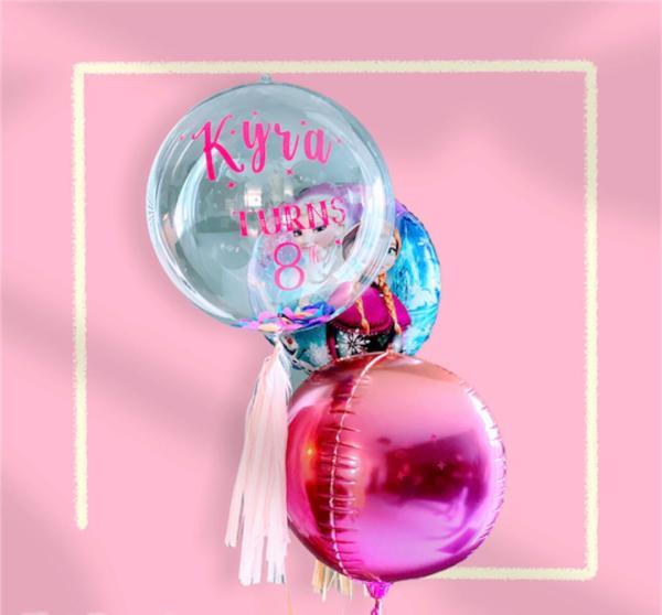 foil clear ballon